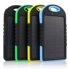12000mAh Portable Shockproof Waterproof Solar Charger Power Bank Battery Panal Double USB  for iPhone Samsung Android Phones