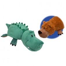 "16"" FlipaZoo Grizzly Bear/Alligator"