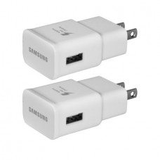 2-Pack Samsung OEM Original USB Mobile Quick Charge 2.0 Travel Wall Adapter