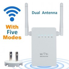 300Mbps Wireless-N Range Extender WiFi Repeater Signal Booster 802.11n/b/g Network Router