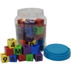 50-Piece Wood Block Set