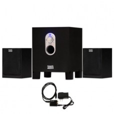 Acoustic Audio AA2101 Home 2.1 Speaker System with Optical Input for Multimedia or Computer