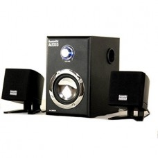 Acoustic Audio AA3009 200 Watt 2.1 Powered Sub Home Computer Speaker System