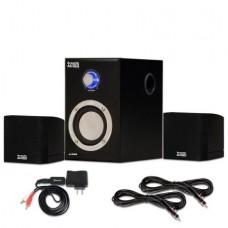 Acoustic Audio AA3009 Home 2.1 Speaker System with Bluetooth and 2 Extension Cables for Multimedia