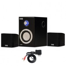 Acoustic Audio AA3009 Home 2.1 Speaker System with Bluetooth for Multimedia or Computer