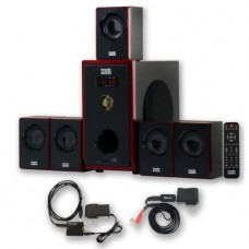 Acoustic Audio AA5103 Home Theater 5.1 Speaker System with Bluetooth and Optical Input
