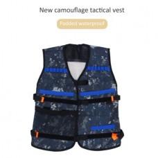 Adjustable Kids Elite Tactical Camo Vest for EVA Nerf Gun N-strike Elite Series