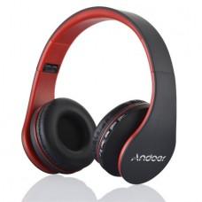 Andoer LH-811 Bluetooth 4.1+EDR Headset 4 in 1 Multifunctional Deep Bass Music Headphone with Mic