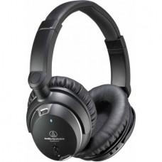 Audio-Technica QuietPoint Active Noise-Cancelling Headphones, Black