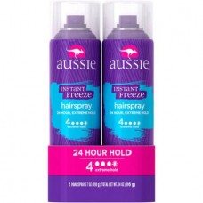 Aussie Instant Freeze Hairspray, 7 oz, 2 pk