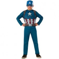 "Avengers ""Captain America"" Child Jumpsuit Halloween Costume"