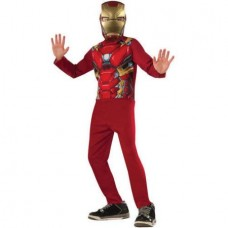 """Avengers """"Iron Man"""" Boys Jumpsuit Halloween Costume"""