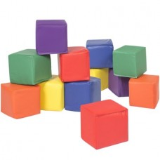 BCP 12pc Soft Big Foam Blocks Play Set Sensory Gross Motor Developmental Skills
