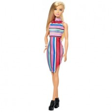 Barbie Fashionistas Doll Candy Stripes, Original Body, Caucasian
