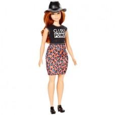 Barbie Fashionistas Doll Lovin' Leopard, Curvy Body, Caucasian