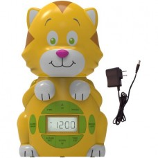Big Red Rooster Cat Projection Alarm Clock