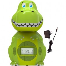 Big Red Rooster Dinosaur Projection Alarm Clock