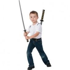 Black Ninja Backpack Child Costume Role Play Set