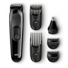 Braun Multi Grooming Kit MGK3020 – 6-in-1 Beard / Hair Trimmer for Men, Face and Head Trimming