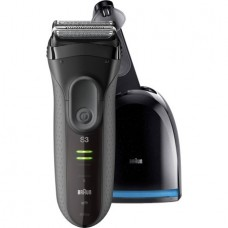Braun Series 3 3050cc Electric Shaver with Clean & Charge Station