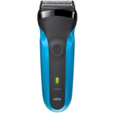 Braun Series 3 310s Wet & Dry Electric Shaver for Men Rechargeable Electric Razor, Blue/Black