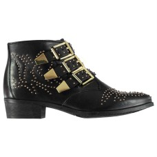 Bronx Breza Buckle Ankle Boots