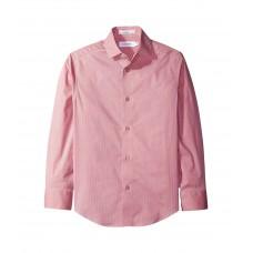 Calvin Klein Kids Long Sleeve Geometric Shirt (Big Kids)