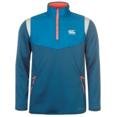 Canterbury Quarter Zip Fleece Rugby Training Sweater Mens