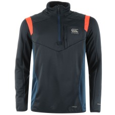 Canterbury Quarter Zip Rugby Training Sweater Mens