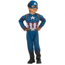 Captain America Muscle Chest Toddler Halloween Costume