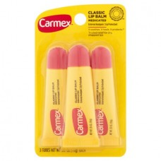 Carmex Medicated Classic Lip Balm, 3 count, 35 oz