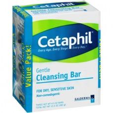 Cetaphil Gentle Cleansing Bar, 4.5 oz, 3 ct