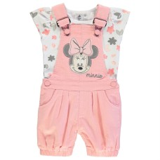 Character Two Piece Dungaree Set Babies
