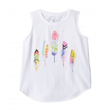 Chaser Kids Painted Feathers Tank Top (Toddler/Little Kids)