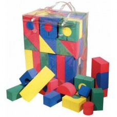 Chenille Kraft Wonderfoam Blocks, Assorted Sizes, Assorted Colors, Multiple Pack Sizes