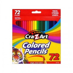 Cra-Z-Art Colored Pencil Set 72pc