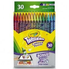 Crayola 30 Count Twistable Colored Pencils