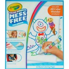 Crayola Color Wonder 30-page Refill Paper