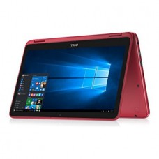 """Dell - Inspiron 2-in-1 11.6"""" Touch-Screen Laptop - Intel Pentium - 4GB Memory - 500GB HD - Red"""