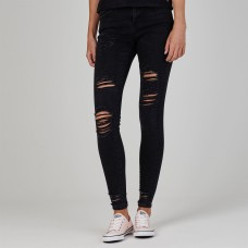 Firetrap Blackseal Destoyed Jeans