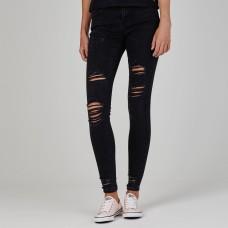 Firetrap Blackseal Destoyed Jeans