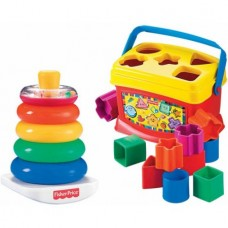 Fisher-Price Baby's First Blocks & Rock a Stack Bundle