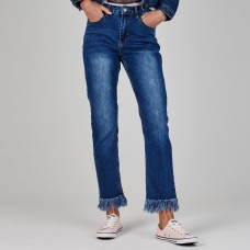 Glamorous Frayed End Jeans