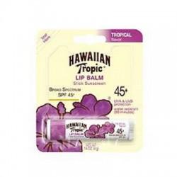 Hawaiian Tropic Lip Balm Sunscreen Stick Tropical Flavor SPF 45 - 1 Count
