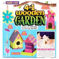Made By Me 4-in-1 Wood Garden Craft Set by Horizon Group USA