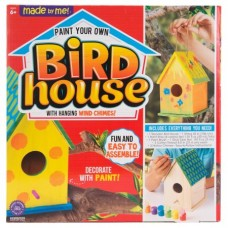 Made by Me Bird House with Wind Chimes Kit by Horizon Group USA