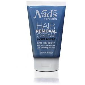 Nad's for Men Hair Removal Cream for the Body, 6.8 fl oz