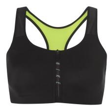 Nike Neoprene Zip Sports Bra Ladies