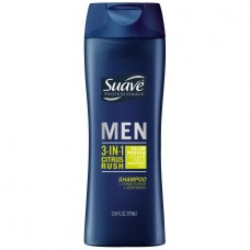 Suave 3-in-1 Citrus Rush Shampoo, 12.6 Oz