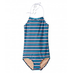 Toobydoo Multi Blue Stripe One-Piece (Infant/Toddler/Little Kids/Big Kids)
